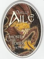 OKELL'S BREWERY (DOUGLAS, ISLE OF MAN) - SMOKED CELTIC PORTER - PUMP CLIP FRONT - Uithangborden