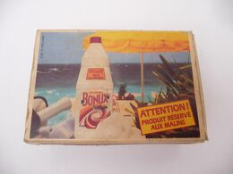 "Publicité  "" BONUX Main   "" Boite D' Allumettes SEITA - GITANES / Match Box Gelijkedoos Streichholzschachte - Matchboxes"