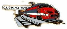 AB - C24 - CE GEC ALSTHOM - TGV SUD EST - Verso : ARTHUS BERTRAND / PARIS - Arthus Bertrand