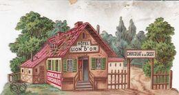 TRES BELLE CHROMO / DECOUPI SUCHARD  / HOTEL DU LION D OR - Suchard