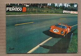 CPSM 72 - LE MANS - Circuit Des 24 Heures Du Mans - Virage ... - TB GROS PLAN AUTOMOBILE - Le Mans