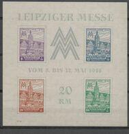 Leipziger Messe   Bloc1**  Dernier Prix - Zona Sovietica