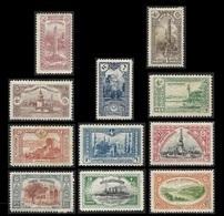 TURQUIE  1914 -  YT 177 à 187 -  Empire Ottoman - 3° Choix - Unused Stamps