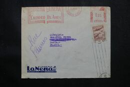 ARGENTINE - Enveloppe De Buenos Aires Pour Paris En 1946 , Affranchissement Timbre + Mécanique - L 70123 - Briefe U. Dokumente