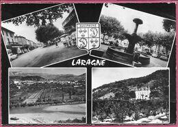 Laragne Multivues Avec Ecusson - Sonstige Gemeinden