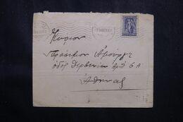 GRECE - Type Iris Sur Enveloppe En 1923 - L 70126 - Grecia