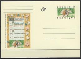 BK 58. Carte Postale Du 23/5/1997 Neuves. Le Couple à Cheval. Cote COB 2020 : 1,50 € - Interi Postali