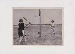 TENNIS A LA PLAGE BUMBLE PUPPY COOL SEA REVELS 20*15CM Fonds Victor FORBIN 1864-1947 - Non Classés
