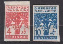 Bulgarie 435 à 436 * Non Dentelés + 446 à 447 * - Ungebraucht