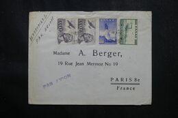 GRECE - Enveloppe Commerciale ( Négociant En Timbres ) De Athènes Pour La France Par Avion - L 70134 - Covers & Documents