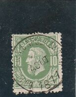 N°30 BOUCLE -St-denis -nederzwalm     ( Rare)----------327 - 1869-1883 Leopold II