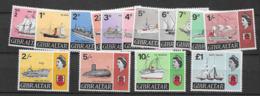 1967 MNH Gibraltar Mi 188-201 Postfris - Gibraltar