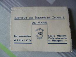 Wervik Wervicq Institut Des Soeurs De Charité Rue Des Vaches Koestraat école Moyenne Professionelle Ménagère - Wervik