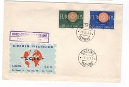 Italia, F.D.C. Europa'60 - F.D.C.