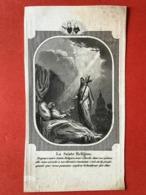 Image Pieuse Anno 1847 - GRAVURE Doodsprentje Décés - Bourgemestre VERHEYDEN TALBOOM Lokeren - 11 Cm X 6 Cm - Andachtsbilder