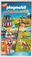 Brochure-leaflet PLAYMOBIL Ergänzugen & Zubehör 2017 - Playmobil