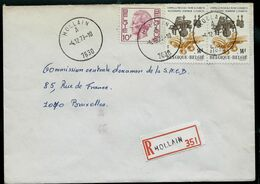 Doc. De HOLLAIN - A - ( 7630 ) Du 04/12/79 En Rec. ( E ) - Marcophilie