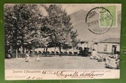 CPA - TURQUIE - Souvenir D'Alexandrette - Locomotive à Vapeur Transportant De La Terre Pour Le Comblage Des Marais - Turquie