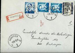Doc. De HOBOKEN - D 2 D - Du 05/10/72  En Rec. ( E ) - Marcophilie