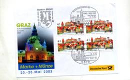 Lettre Cachet Bonn Exposition  Graz Sur Carré Kronach - [7] Federal Republic
