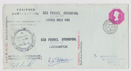 HOVERCRAFT>HYDROFOIL>SEASPEED>RED FUNNEL - 1952-.... (Elisabetta II)
