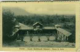 TELESE ( BENEVENTO ) GRANDI STABILIMENTI BALNEARI - VASCA S. LUCIA - EDIZIONE BOCCAGNA - SPEDITA 1913 ( 4872) - Benevento