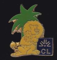 66473- Pin's.Banque.Credit Lyonnais.LCL.Lion.signé Credit Lyonnais 1991. - Banken
