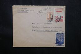 MAROC - Enveloppe De Casablanca Pour La Suisse En 1940 Par Avion - L 70173 - Briefe U. Dokumente
