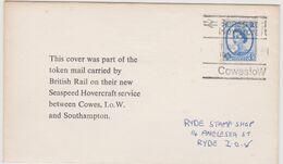 HOVERCRAFT>SR N6>SEASPEED>COWES - 1952-.... (Elisabetta II)