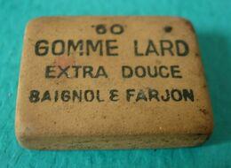 Petite Gomme Ancienne Baignol Et Farjon Gomme Lard - Andere Verzamelingen