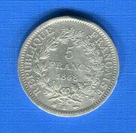 5  Fr  1848 Bb - J. 5 Franchi