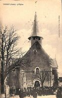36 - Thenay - L'Eglise (animée, 1915, Peu Vue) - Andere Gemeenten