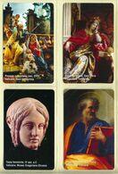 CARTA TELEFONICA VATICANA €- NUMERO 154/157 - NUOVA - URMET- GARANTITE MAGNETIZZATE - VATICAN PHONE CARD - Vatikan