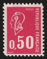 N°1664f, Faux D'Aubervilliers, Marianne De Béquet 50c Carmin-rose, Neuf ** - TB - Unused Stamps