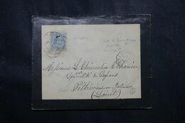 ESPAGNE - Enveloppe De Valencia Pour La France En 1890 - L 70181 - Briefe U. Dokumente