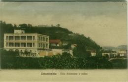 CASAMICCIOLA ( NAPOLI ) VILLA SALESIANA E VILLINI - EDIZIONE DE LUISE - SPEDITA 1915 ( 4881) - Napoli (Napels)