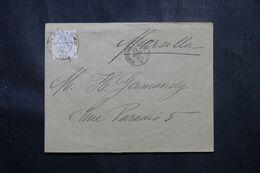 ESPAGNE - Enveloppe De Barcelone Pour La France En 1881 - L 70183 - Briefe U. Dokumente