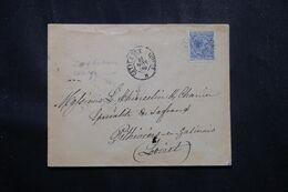 ESPAGNE - Enveloppe Pour La France En 1889 - L 70184 - Briefe U. Dokumente