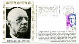 Thème Général De Gaulle - Flamme Temporaire SORGUES - 27 Octobre 1990 - Y 430 - De Gaulle (Generaal)