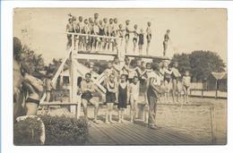 Y17389/ Hildesheim  Badeanstalt Jungen Foto AK 1926 - Duitsland