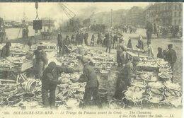 Cpa 62 Boulogne Sur Mer , Triage Du Poisson Avant La Criée , Collection Cartes D'autrefois - Boulogne Sur Mer