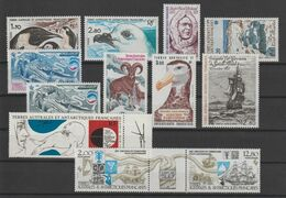 TAAF Année Complète 1985 109-114 Et PA 86-89,91A ** MNH - Full Years