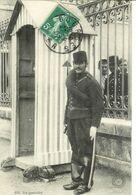Cpa 18 Bourges , Planton Au Quartier , écrite 1907 - Bourges
