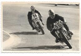 PHOTO.  GRAND PRIX MOTO PAU 1963  N° 36  BARBAROUSE SUR BMW.N°14 COGNIARD .. BE VOIR SCAN - Sports