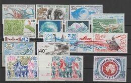 TAAF Année Complète 1989 140-147 Et PA 103-4, 106A Et 107-9 ** MNH - Años Completos