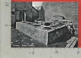 CARTOLINA NV ITALIA - ERCOLANO - Bottega - Caupona - 10 X 15 - Ercolano