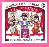 BLOC CNEP 1994 N° 18 ** SALON PHILATELIQUE DE LYON LUGDUNUM 1994 GUIGNOL - CNEP