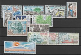 TAAF Année Complète 1990 148-154 Et PA 110-111,113A,114 ** MNH - Full Years