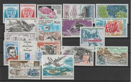 TAAF Année Complète 1993 171-181, 183A Et PA 125-128 ** MNH - Full Years