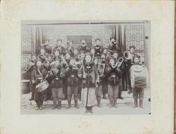 Photo China, Ca 1901, Boxeraufstand, Chinesische Musikkapelle - Cartes Postales